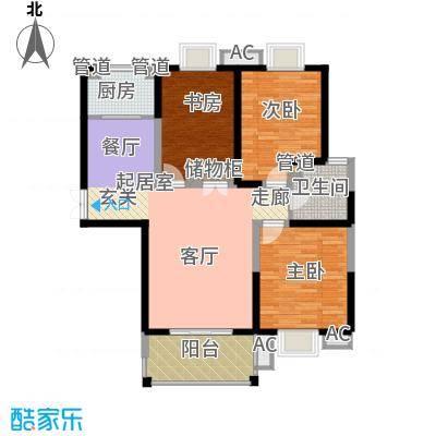 曲江观邸118.00㎡面积11800m户型