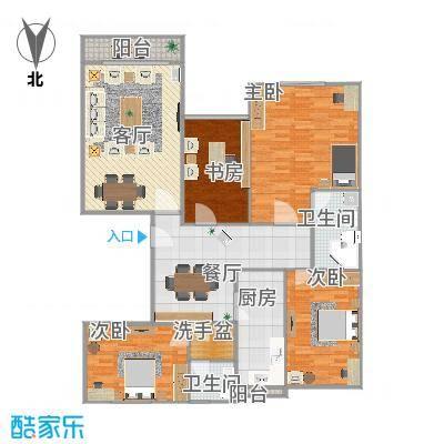 盛华园四室两厅两卫 - 副本-副本