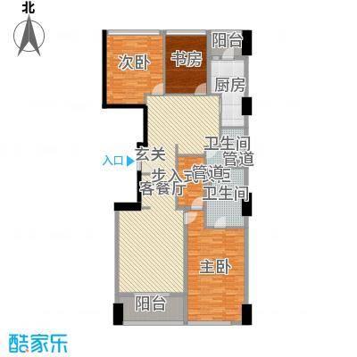 苏宁广场187.00㎡大平层C户型3室2厅2卫1厨-副本