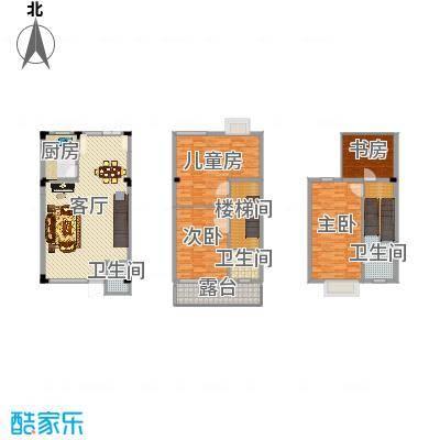 南京_鸿信大宅门_1-3层-施工版
