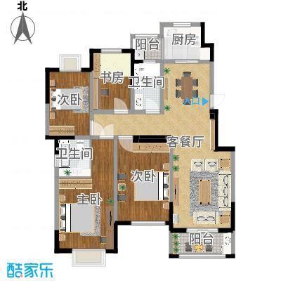 【现代】中央广场Ms.龚-设计师:许瑞灵