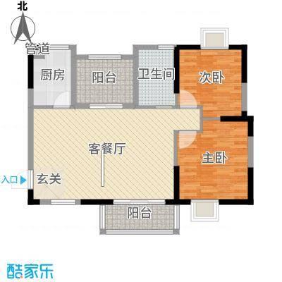 顺民宜盛花园_5、8、13号楼B1户型