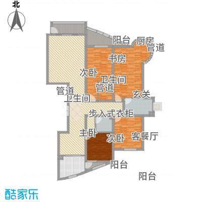 建和公务嘉园180.00㎡建和公务嘉园户型图户型图4室2厅2卫1厨户型4室2厅2卫1厨-副本