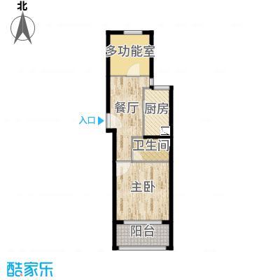 中福浦江汇60平户型图