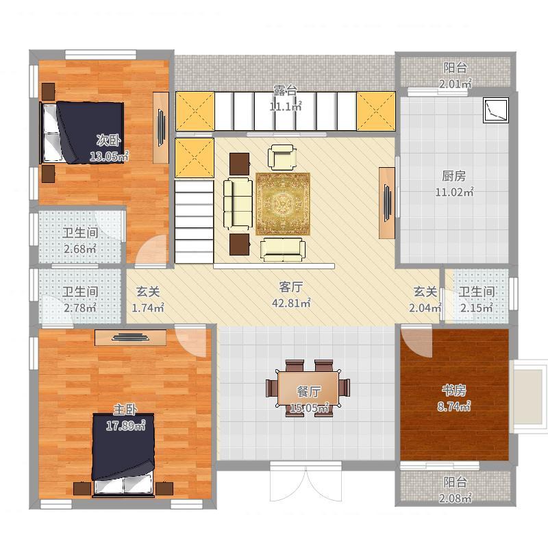 楼房主体电路图