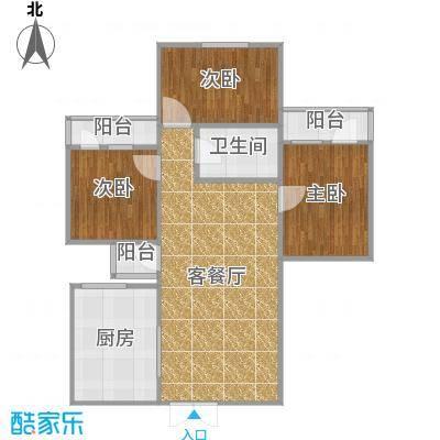 弘都装饰-珠海-银海新村-户型图