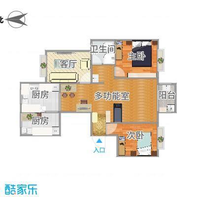 翰林世家方案二(小客厅)