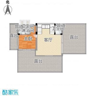 花都颐和山庄113.00㎡A1型别墅首层户型1室1厅2卫