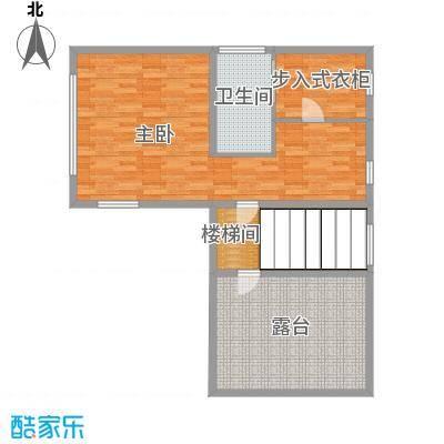 正源尚峰尚水305.07㎡28、29、41、47栋D-三层户型2室2厅1卫