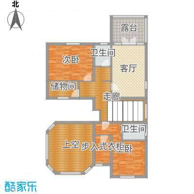 正源尚峰尚水305.07㎡28、29、41、47栋D-二层户型2室2厅2卫