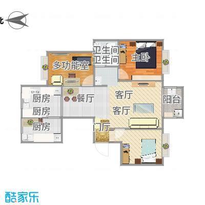 翰林世家方案三(大客厅)