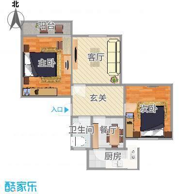 荷香村的户型图