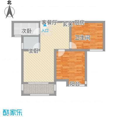 冠捷・观邸88.00㎡4户型-副本