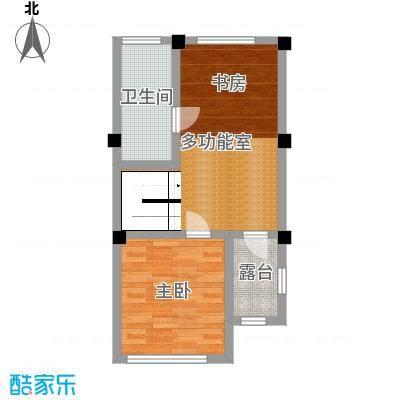 君海112.00㎡1号楼联排玲珑墅A1三层户型3室3厅4卫1厨