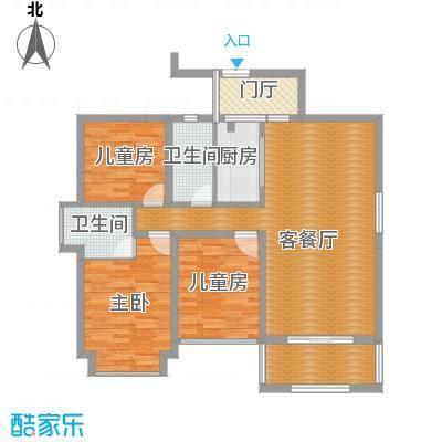 中央豪门1栋1单元1301户型