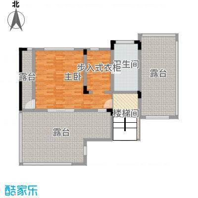华侨花园313.20㎡J3三层户型1室1厅1卫