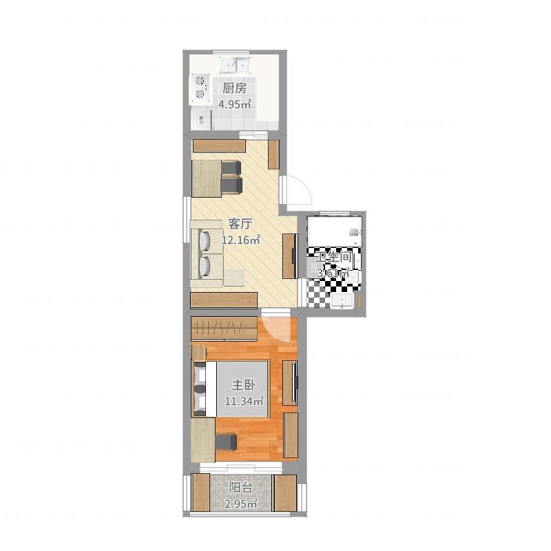 上海 上海市 宝山区 新房子 户型图