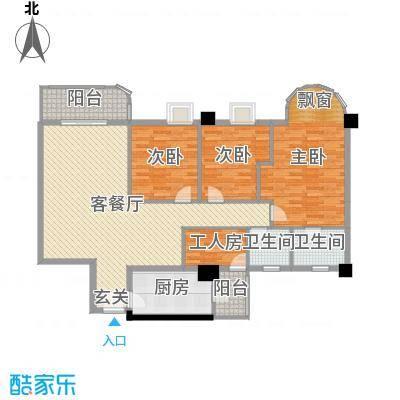 第五大道151.00㎡B1-02/B4-02/B2-01/B3-01户型4室4厅2卫1厨