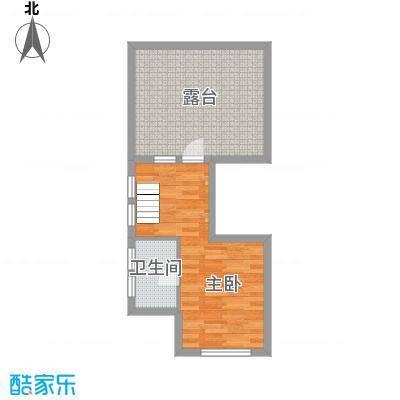 中铁国际旅游度假区29.00㎡一期复合式合院E户型1室1厅1卫