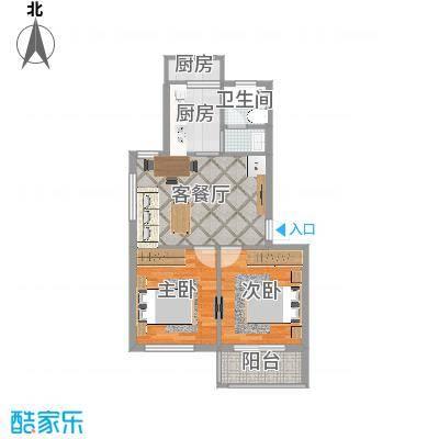 联南花园60平两室户