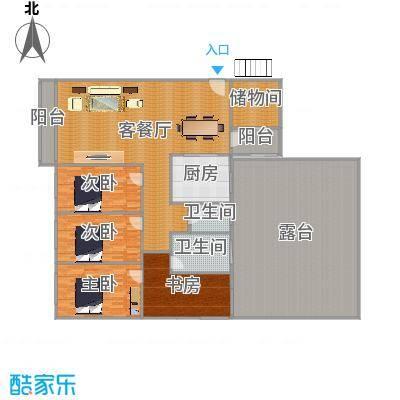 上林国际1-11户型