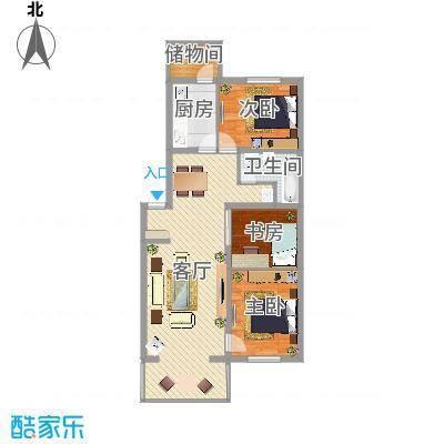 隆西佳苑13#-3户型