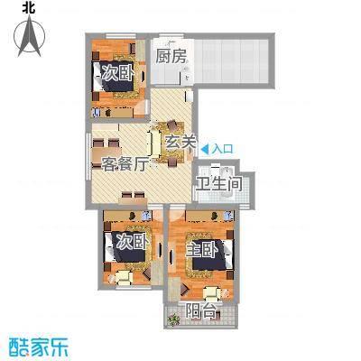 长峰尚海湾D1户型-副本-副本