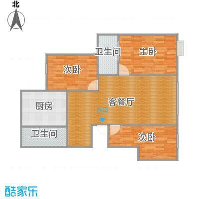 园丁小区三室两厅两卫