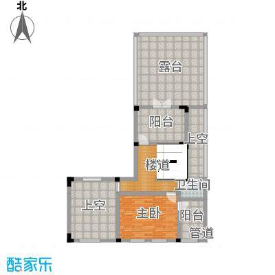 中冶南方韵湖首府170.00㎡25-47号楼G1二层户型3室3厅2卫1厨