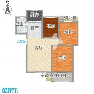 三室一厅105平方