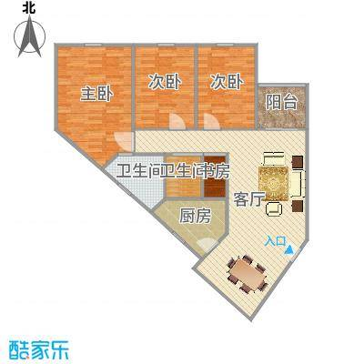 广东广州白云区金湖雅苑吴小姐-设计师魏瑞敏