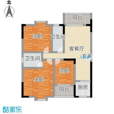 西源鑫大厦138.00㎡A1户型3室3厅1卫1厨