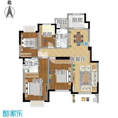 中央广场龚女士效果图-设计师:许瑞灵-方案四-副本