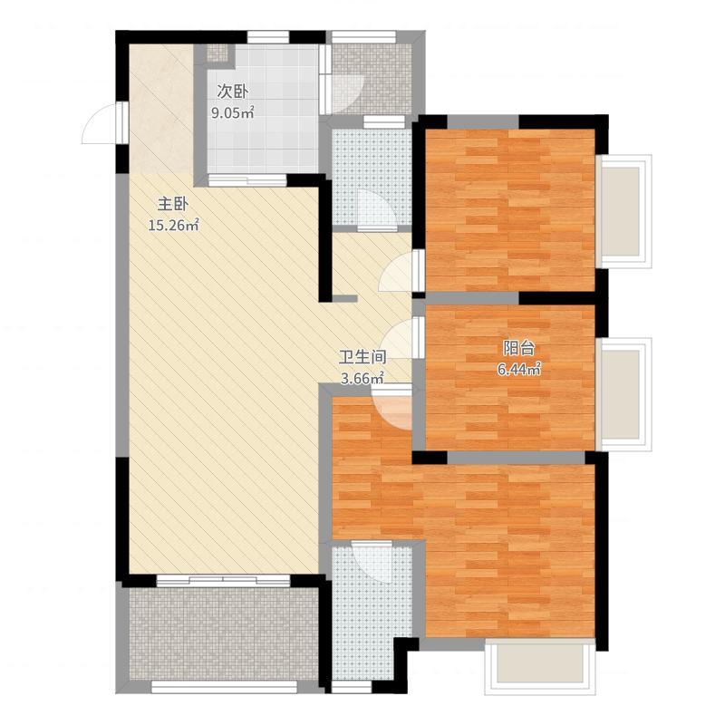 户型设计 融汇半岛江上公馆12.