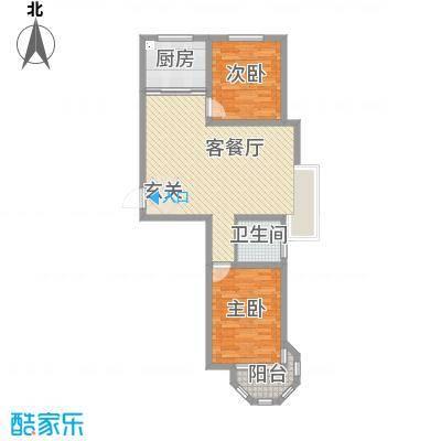 天河悦城118.66㎡1#2#号楼A1户型3室3厅2卫1厨