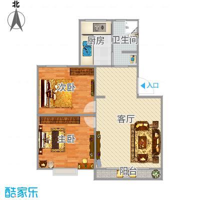 上海_丽泽荷亭苑B1型80.01-80.6平方_2015-09-30-1627