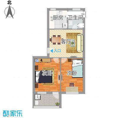 太阳公寓小区58.00㎡