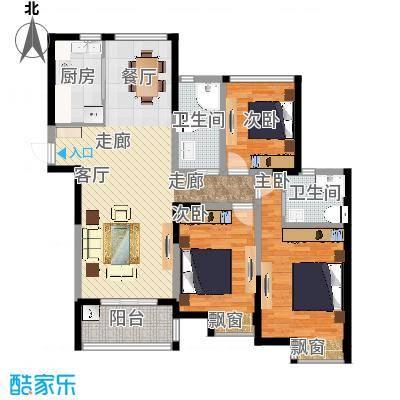 三室两厅-副本-总尺寸-副本