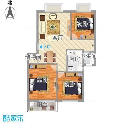 云龙嘉苑3室2厅1卫1厨-副本
