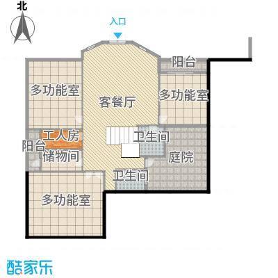 中骏南湖香郡672.00㎡独栋2地下一层户型5室5厅1卫