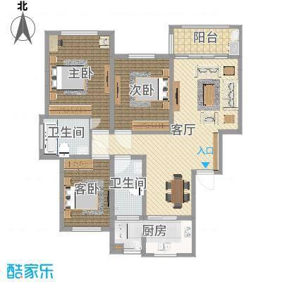 丹桂苑-136平-简约