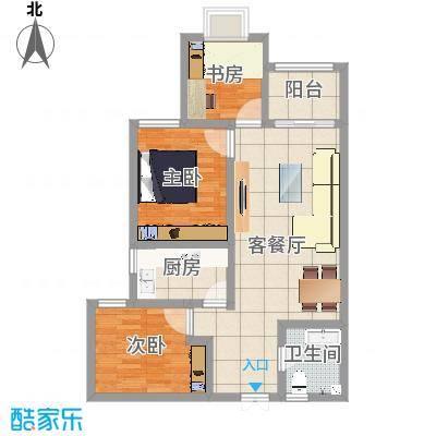 融广春天-现代简约-84平方-三居室