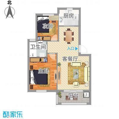 多层两室一厅一卫