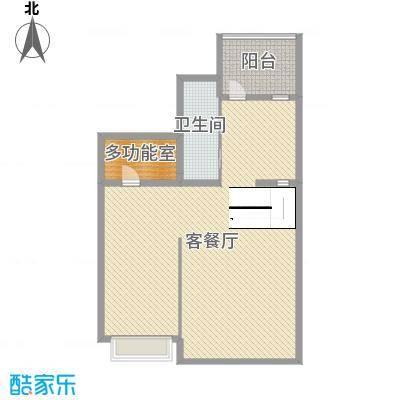 锦园178.00㎡B地下一层平面图户型4室4厅3卫1厨