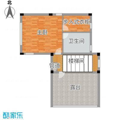 正源尚峰尚水301.79㎡28、29、41、47栋B-三层户型2室2厅1卫