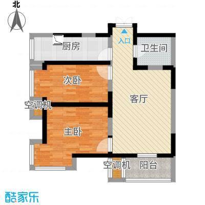 02户型79方建投观海(方案一)