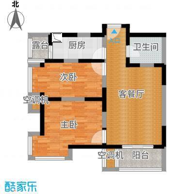 02户型—79方建投观海(方案二北欧)