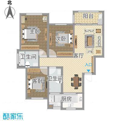 丹桂苑-136平-简约-副本