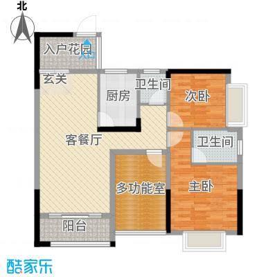 锦绣・东城92.45㎡D26-7栋N+1户型3室3厅2卫1厨