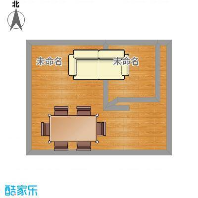 和睦家园90.00㎡和睦家园户型图D2室2厅1卫户型2室2厅1卫-副本